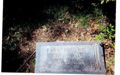 Earnton Guy Sr. (3rd Generation)