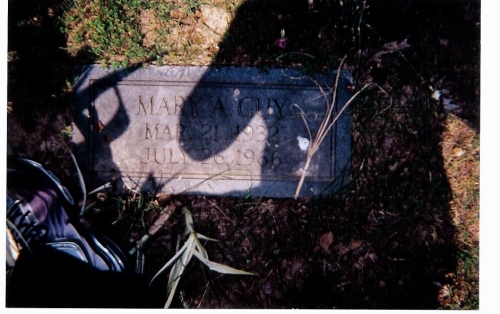 Mary Agnes White-Guy was the 1st wife of Jessie James Guy Sr.