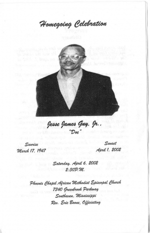 Jessie James Guy Jr. (6th Generation)