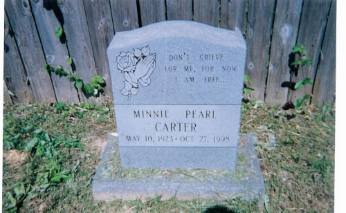 Minnie Pearl Fitzgerald-Carter