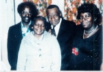 Willie Ed with William (Beach), Annie & Pearlie Guy