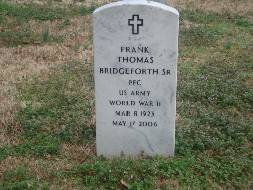 Frank Thomas Bridgeforth Sr. (1923-2006)