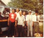 Leroy Guy Sr. Rosie Lee Guy, Frazier Guy Sr. Frank Guy Sr. & Earnton (Papa Coon) Guy Jr.
