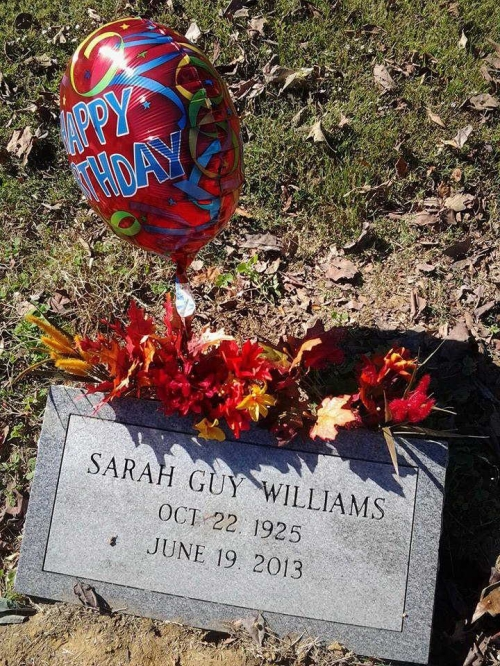 Sarah Guy-Williams (1925-2013)