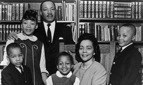 Dr. Martin Luther King Jr & Family