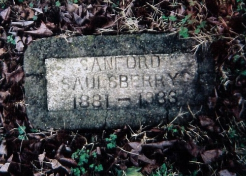 Sanford Saulsberry Sr. (1881-1933)